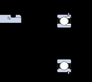 60 mm x 110 mm x 22 mm  SKF 212-2ZNR deep groove ball bearings
