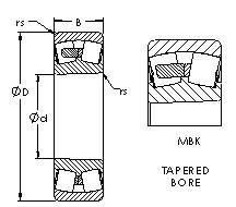 AST 24034MBK30 spherical roller bearings