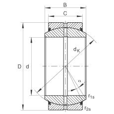 INA GE30-DO-2RS plain bearings