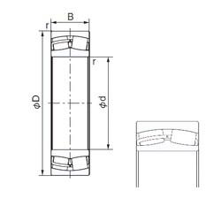170 mm x 260 mm x 90 mm  NACHI 24034AX cylindrical roller bearings