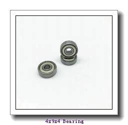 4 mm x 9 mm x 4 mm  ISO F684ZZ deep groove ball bearings