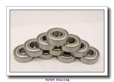 4 mm x 9 mm x 4 mm  ZEN 684-2RS deep groove ball bearings