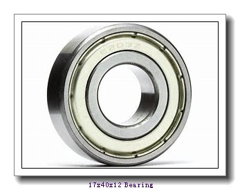 17 mm x 40 mm x 12 mm  KOYO 6203-2RD deep groove ball bearings