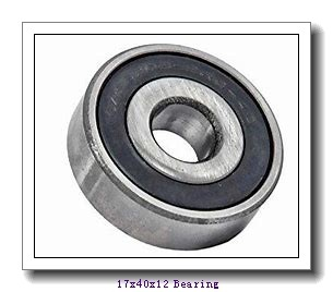 17 mm x 40 mm x 12 mm  NTN AC-6203ZZ deep groove ball bearings