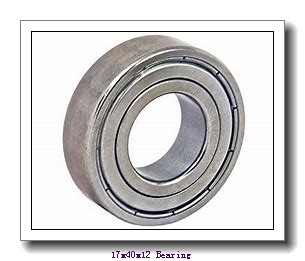17 mm x 40 mm x 12 mm  KOYO 3NC6203HT4 GF deep groove ball bearings