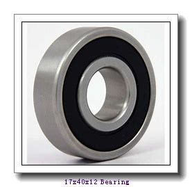 17 mm x 40 mm x 12 mm  NACHI NJ 203 cylindrical roller bearings