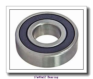 17 mm x 40 mm x 12 mm  NACHI 7203BDF angular contact ball bearings