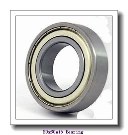50 mm x 80 mm x 16 mm  NTN 6010LLH deep groove ball bearings