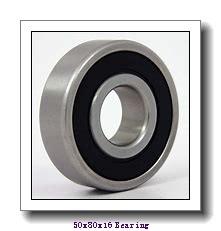 50 mm x 80 mm x 16 mm  NTN 6010 deep groove ball bearings