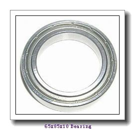 65 mm x 85 mm x 10 mm  KOYO 6813ZZ deep groove ball bearings