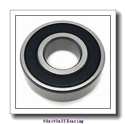 65 mm x 140 mm x 33 mm  NTN QJ313 angular contact ball bearings