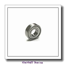 65 mm x 140 mm x 33 mm  NTN 6313NR deep groove ball bearings