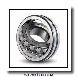 90 mm x 190 mm x 43 mm  ISO 20318 KC+H318 spherical roller bearings