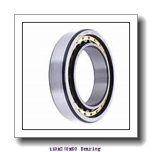 110 mm x 240 mm x 50 mm  NACHI 7322DT angular contact ball bearings