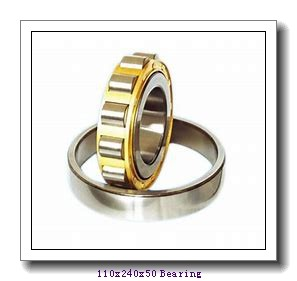 110 mm x 240 mm x 50 mm  NSK 7322 A angular contact ball bearings