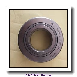 110 mm x 240 mm x 50 mm  NTN 7322DF angular contact ball bearings