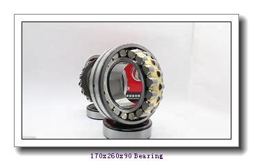 170 mm x 260 mm x 90 mm  Loyal 24034 K30CW33+AH24034 spherical roller bearings
