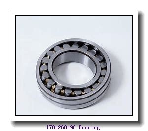 170 mm x 260 mm x 90 mm  ISO 24034 K30CW33+AH24034 spherical roller bearings