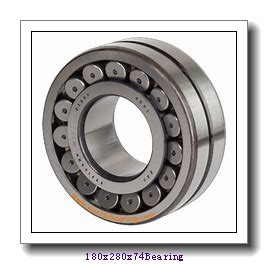180 mm x 280 mm x 74 mm  ISO NJ3036 cylindrical roller bearings