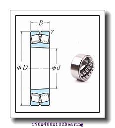 190 mm x 400 mm x 132 mm  ISO 22338 KCW33+AH2338 spherical roller bearings