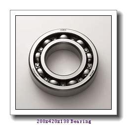 200 mm x 420 mm x 138 mm  Loyal 22340MW33 spherical roller bearings