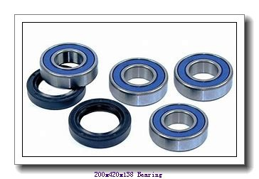 200 mm x 420 mm x 138 mm  Loyal NU2340 E cylindrical roller bearings