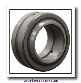 200 mm x 420 mm x 138 mm  NACHI NJ 2340 cylindrical roller bearings