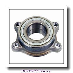 630 mm x 920 mm x 212 mm  NACHI 230/630EK cylindrical roller bearings