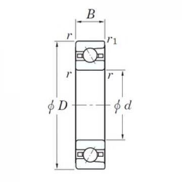 50 mm x 80 mm x 16 mm  KOYO 3NC HAR010C FT angular contact ball bearings