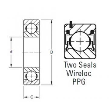 50 mm x 90 mm x 20 mm  Timken 210NPPG deep groove ball bearings