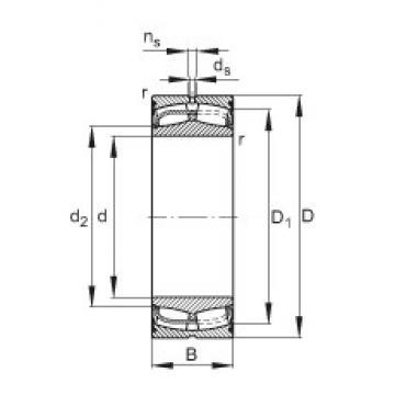 170 mm x 260 mm x 90 mm  FAG 24034-E1-2VSR spherical roller bearings