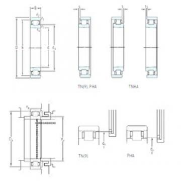 50 mm x 80 mm x 16 mm  SKF N 1010 KTN/HC5SP cylindrical roller bearings