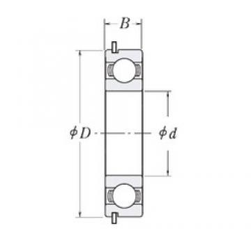 65 mm x 85 mm x 10 mm  CYSD 6813NR deep groove ball bearings