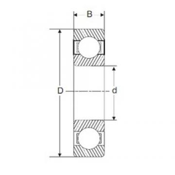 50 mm x 80 mm x 16 mm  SIGMA 6010 deep groove ball bearings