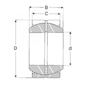17 mm x 30 mm x 14 mm  SIGMA GE 17 ES plain bearings