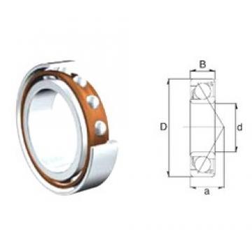 50 mm x 90 mm x 20 mm  ZEN 7210B angular contact ball bearings