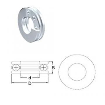ZEN F4-9 thrust ball bearings