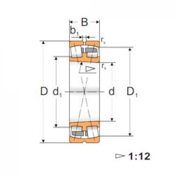 190 mm x 400 mm x 132 mm  FBJ 22338K spherical roller bearings