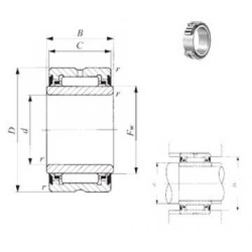 17 mm x 30 mm x 14 mm  IKO NA 4904UU needle roller bearings