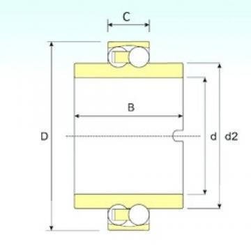 50 mm x 90 mm x 20 mm  ISB 11210 TN9 self aligning ball bearings