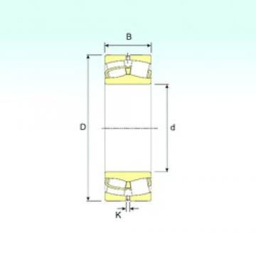 190 mm x 400 mm x 132 mm  ISB 22338 VA spherical roller bearings