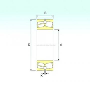90 mm x 190 mm x 43 mm  ISB 21318 spherical roller bearings