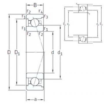 50 mm x 80 mm x 16 mm  SNFA VEX 50 7CE1 angular contact ball bearings