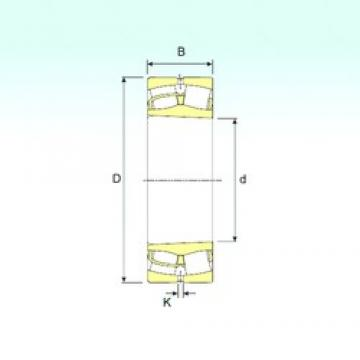 180 mm x 280 mm x 74 mm  ISB 23036 K spherical roller bearings
