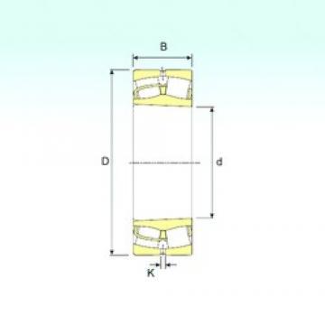 65 mm x 140 mm x 33 mm  ISB 21313 K spherical roller bearings