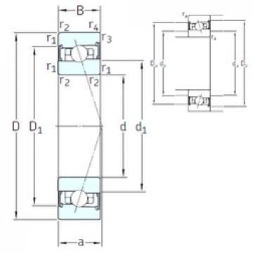 50 mm x 80 mm x 16 mm  SNFA HX50 /S 7CE3 angular contact ball bearings