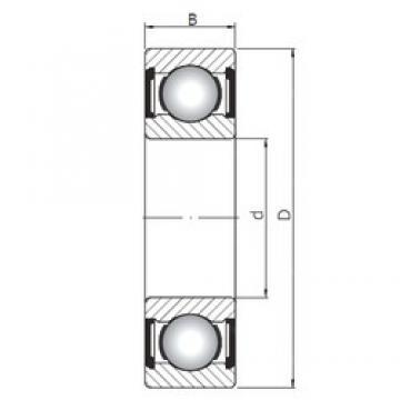 65 mm x 140 mm x 33 mm  Loyal 6313 ZZ deep groove ball bearings