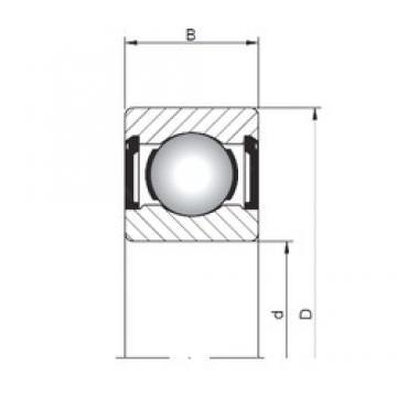 4 mm x 9 mm x 4 mm  Loyal 618/4 ZZ deep groove ball bearings