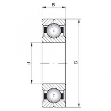 Loyal Q318 angular contact ball bearings