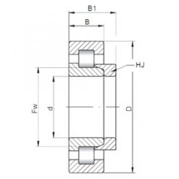 50 mm x 90 mm x 20 mm  Loyal NH210 E cylindrical roller bearings